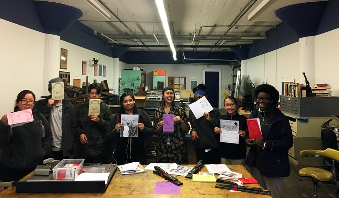 Outreach Zines Workshop