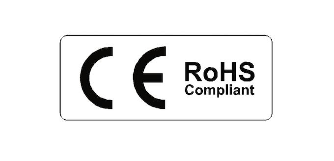 CE RoHS Compliant