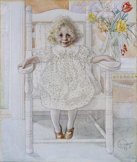 Porträtt av Inga-Mari Thiel