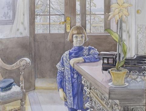 Porträtt av Tage Thiel