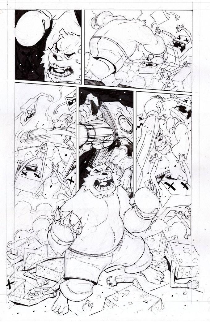 Boxer Bear Unleashed!
