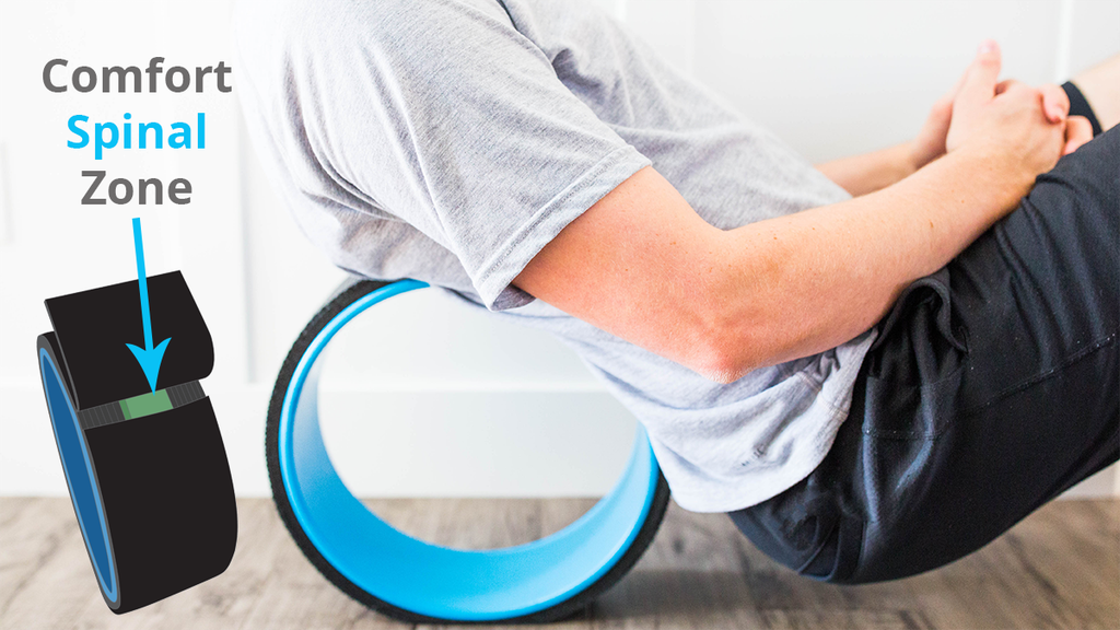 Ease Roller: Roll & stretch back pain away + spinal comfort