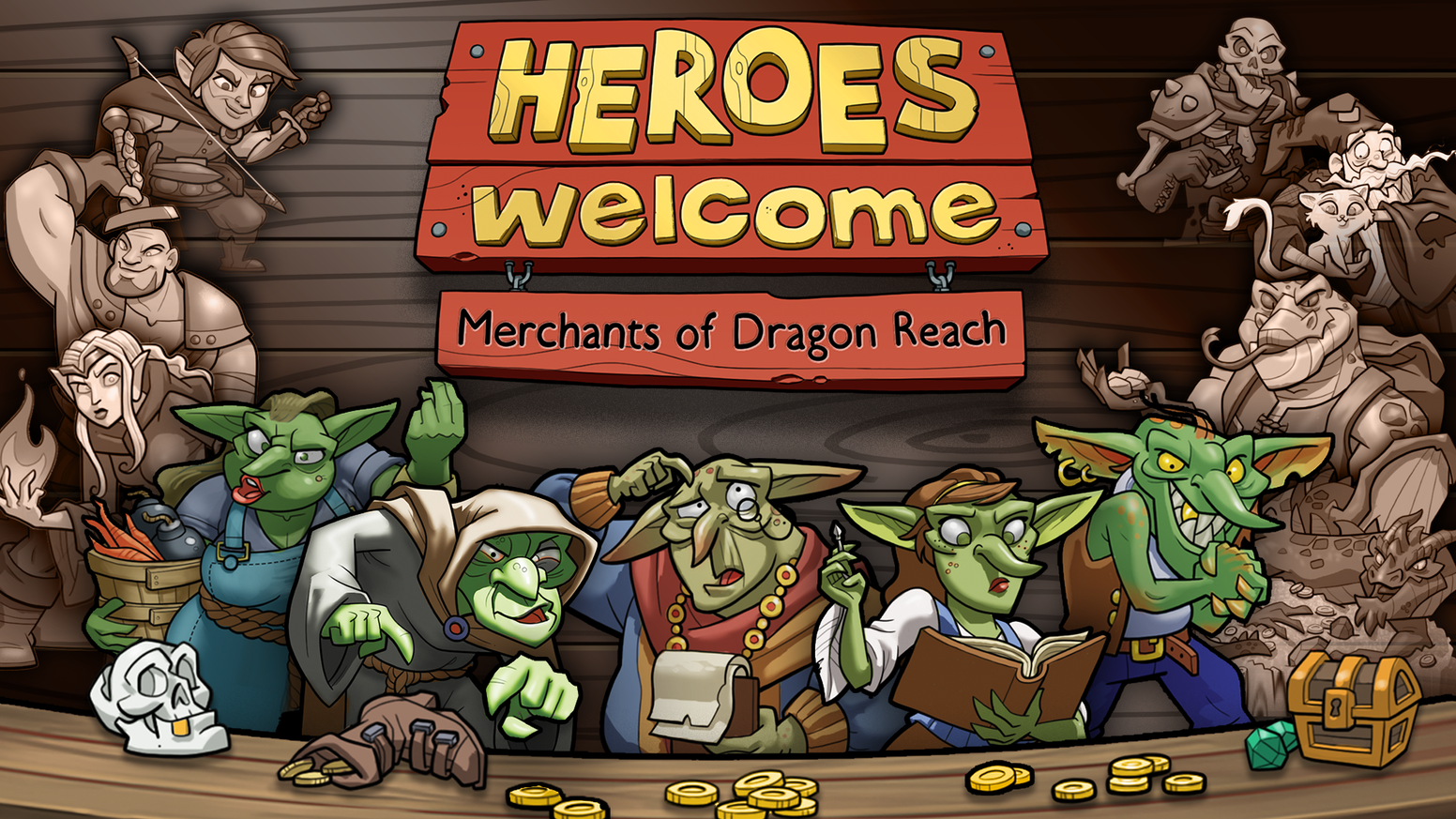 A fantasy game of cunning commerce and devious double-dealing for 2-5 Goblins.