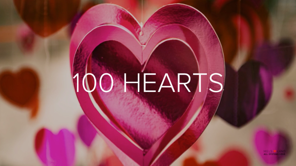 100 HEARTS | VALENTINE ANGELS | ALL SYSTEMS LOVE project video thumbnail