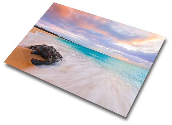 """""""Papohaku Dreams"""" 20""""x30"""" metal print with ½"""" floating mount will be given away to one random backer. Pledge $35 or more to be eligible!"""