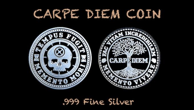 Carpe Diem Coin in .999 Fine Silver