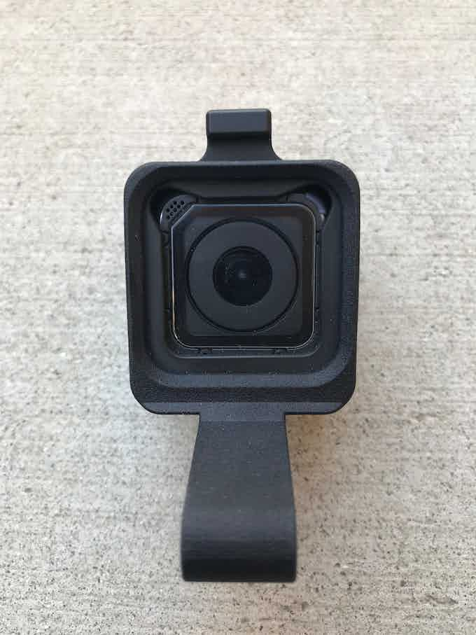 SIDEKICK POV Cap Mount for GoPro® HERO and HERO5 Session Front View