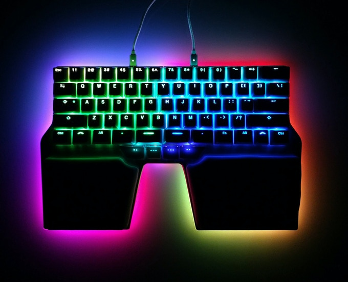 Beautiful RGB backlight and underglow