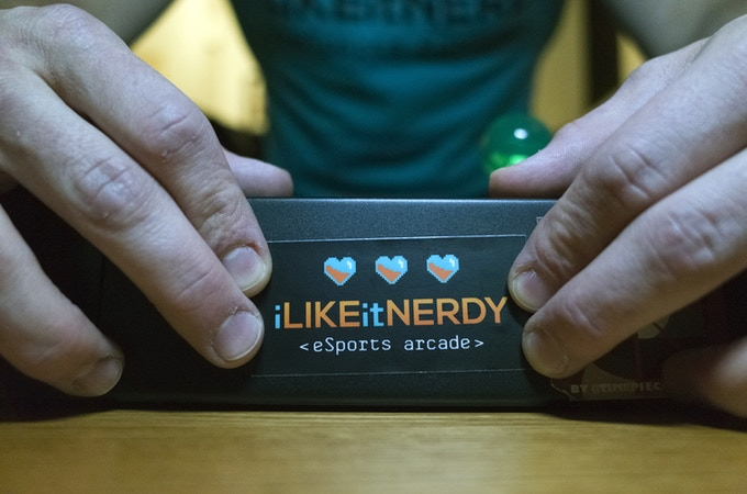 Welcome to iLikeitNerdy eSports arcade, THE place to get down and nerdy! Show off our support! Our iLikeitNerdy sticker can be yours with a pledge!