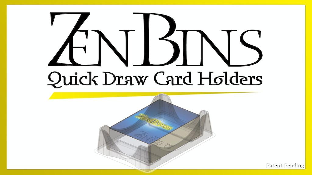 Zen Bins Quick Draw Card Holders project video thumbnail
