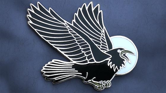 The Black Bird - Hard Enamel Pin