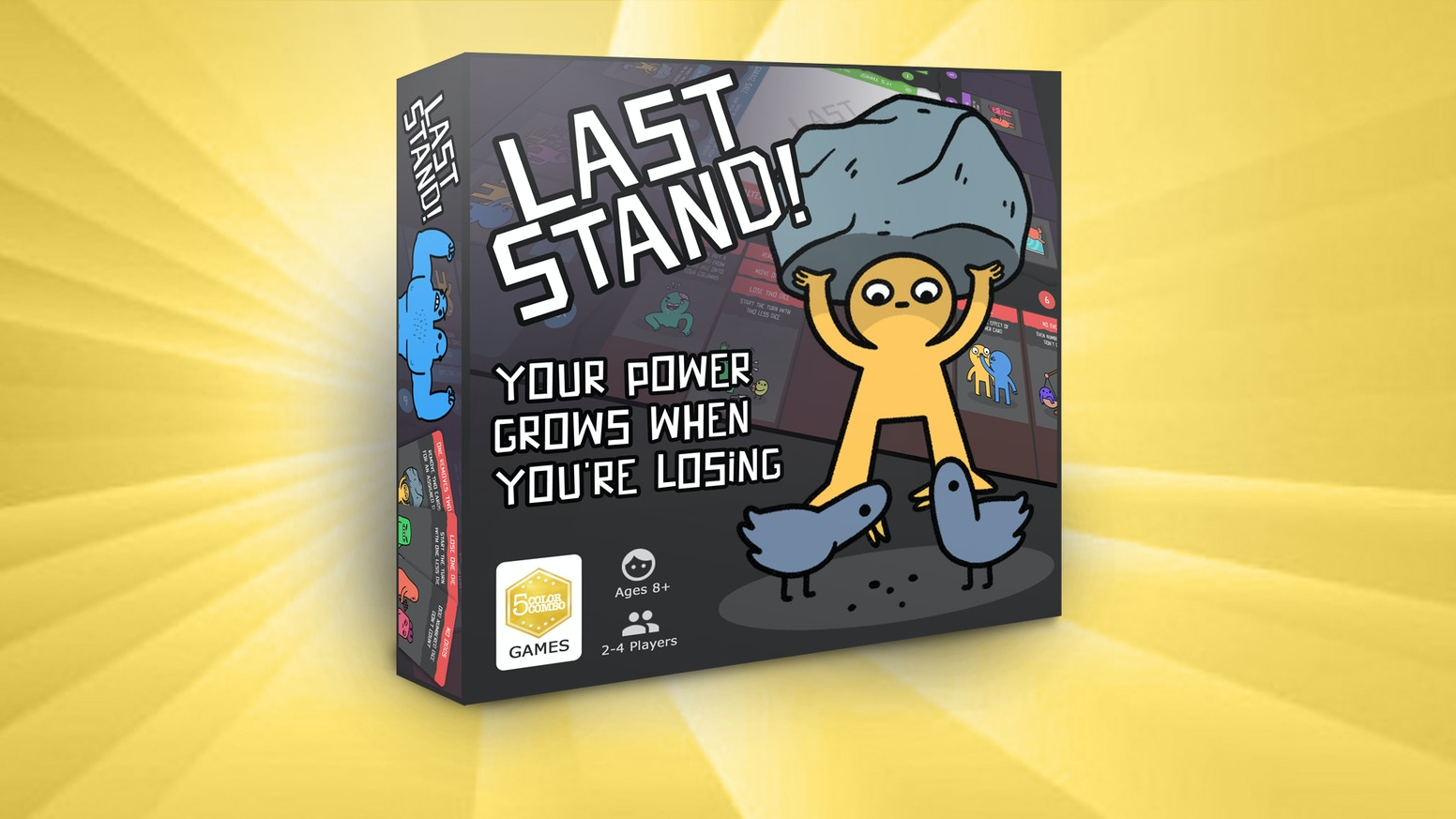 The game where your power grows when you're losing!