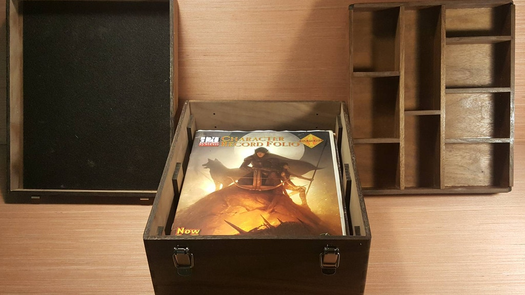 RPG Box / Custom Gaming Boxes / Spell & Ability Trackers project video thumbnail