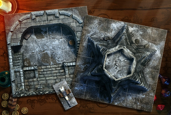 Fortress in the Mountains  - free extra tiles