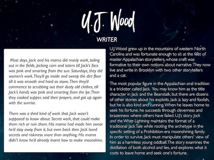 U.J. Wood: starlingstory.tumblr.com