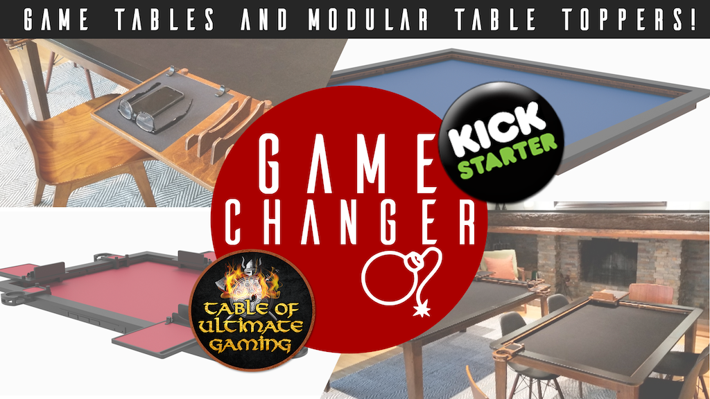 GameChanger - Game Tables and Table Toppers