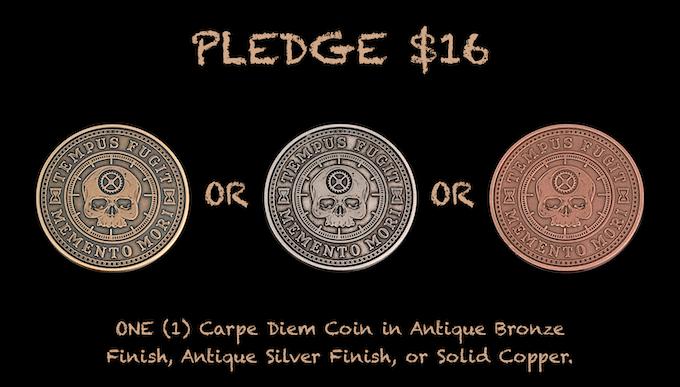 Reward for $16 Pledge
