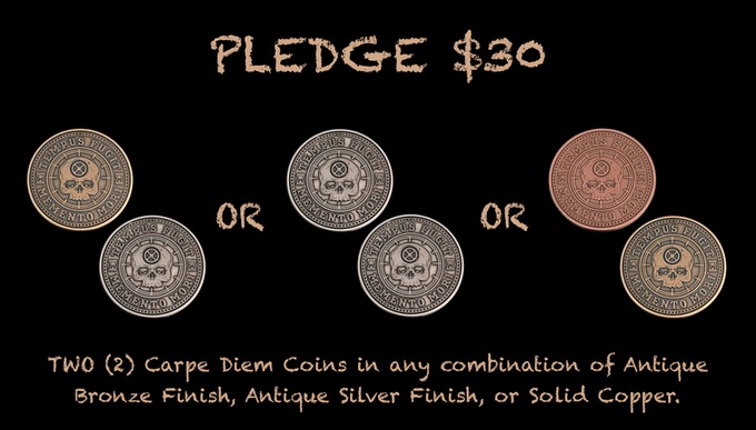 Reward for $30 Pledge