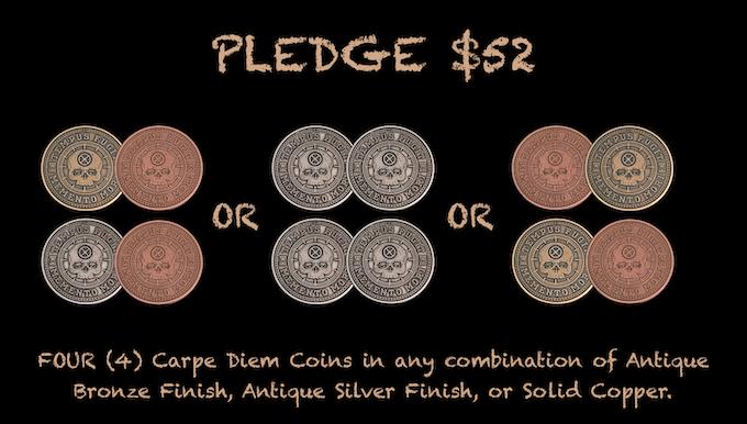 Reward for $52 Pledge