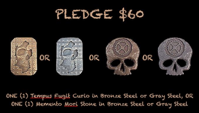 Reward for $60 Pledge