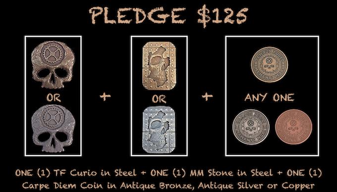 Reward for $125 Pledge