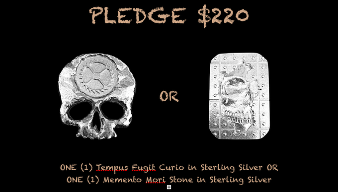 Reward for $220 Pledge