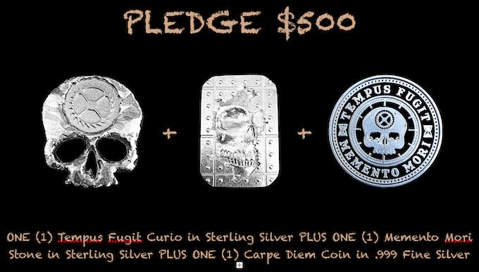 Reward for $500 Pledge