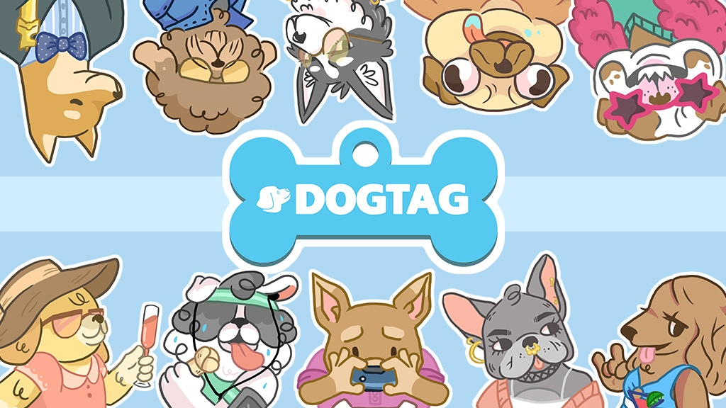 Dogtag: The Attention Grabbing Card Game For Dogpeople project video thumbnail