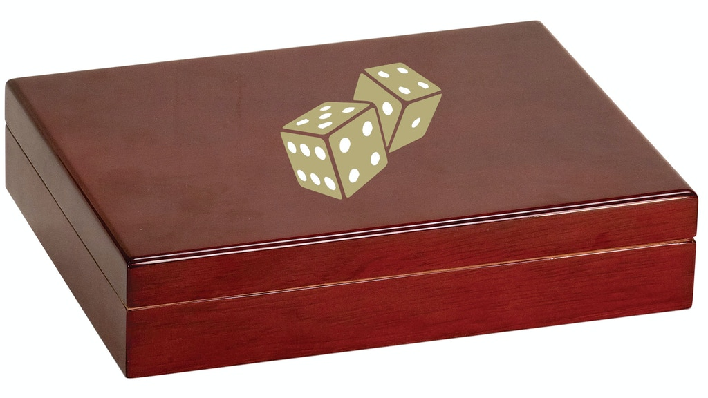 Project image for Dice Cigar Rosewood Piano Finish Humidor