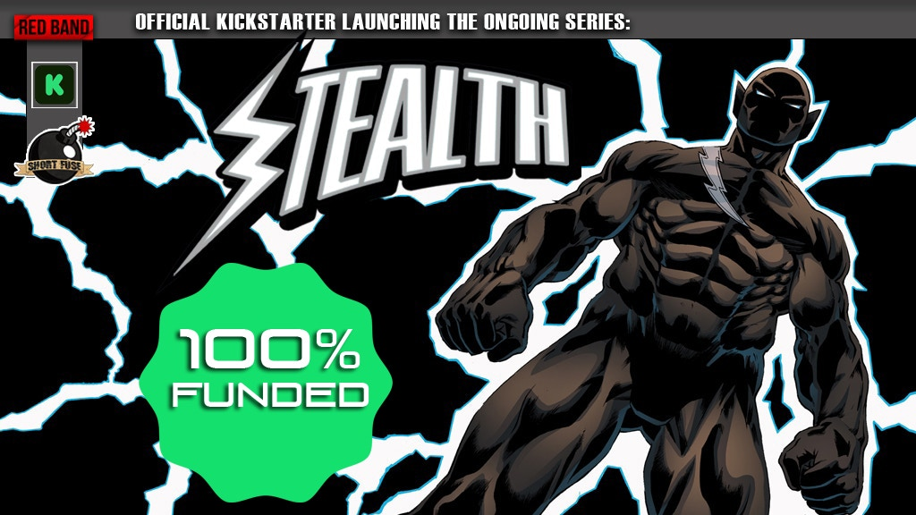Stealth Comic Book Series Launch! project video thumbnail