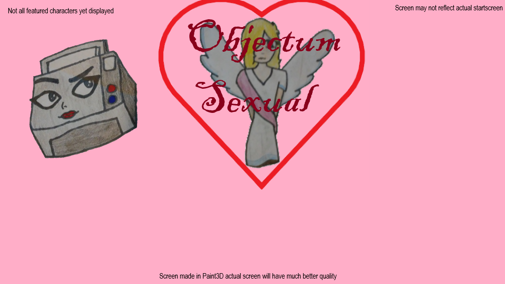 Objectum-Sexual (working): An Object-Based Dating Simulator (Canceled)