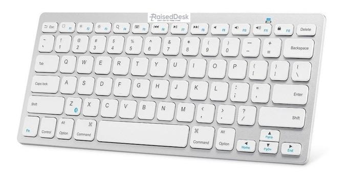 "Ultra-Slim Bluetooth Keyboard Slim Portable Bluetooth Wireless Keyboard (appx. 5"" x 11"")"
