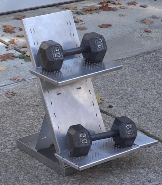 Adjustable Dumbbells South Africa: Ergonomic, Adjustable, Portable Stand Up