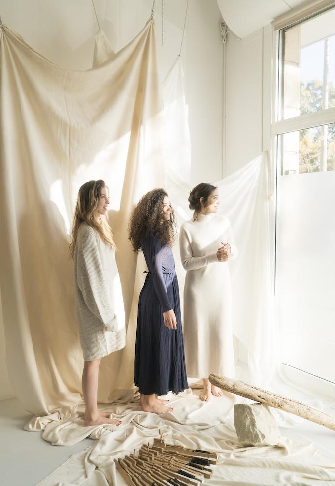 Irene labrador, Marta Cascales y Mireia Vila
