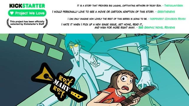 Check out Nicky's Kickstarter!