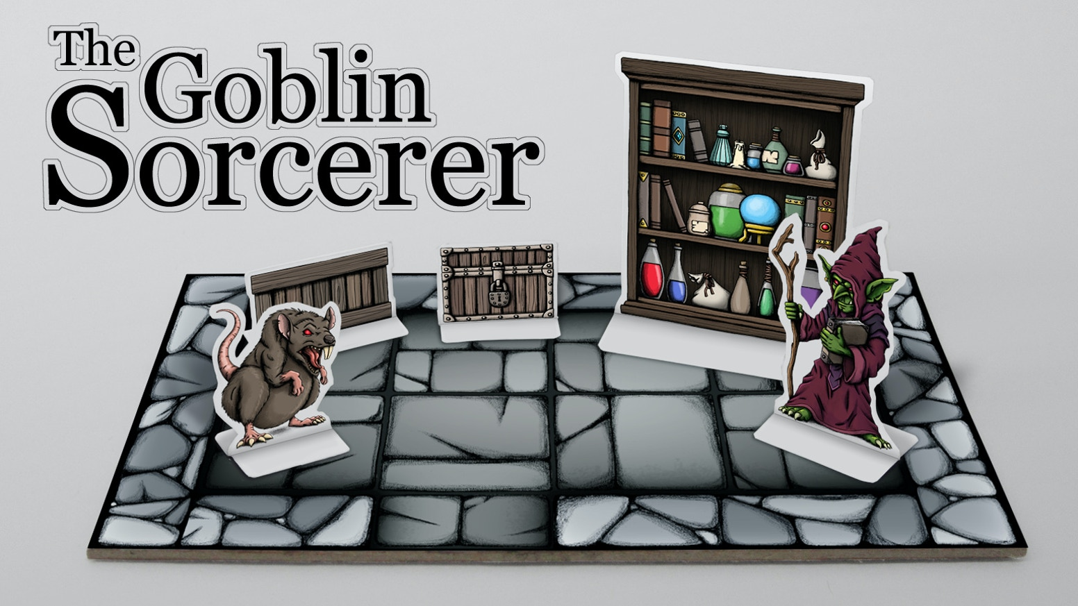 Paper Model and Miniature Diorama for Tabletop Role-Playing Games.