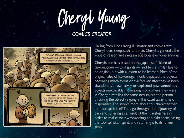 Cheryl Young: https://twitter.com/cysketch