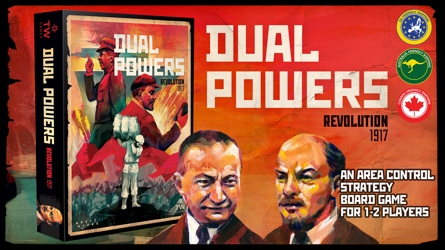 Control the Petrograd Soviet or the Russian provisional government as they struggle for power during the Russian revolution!