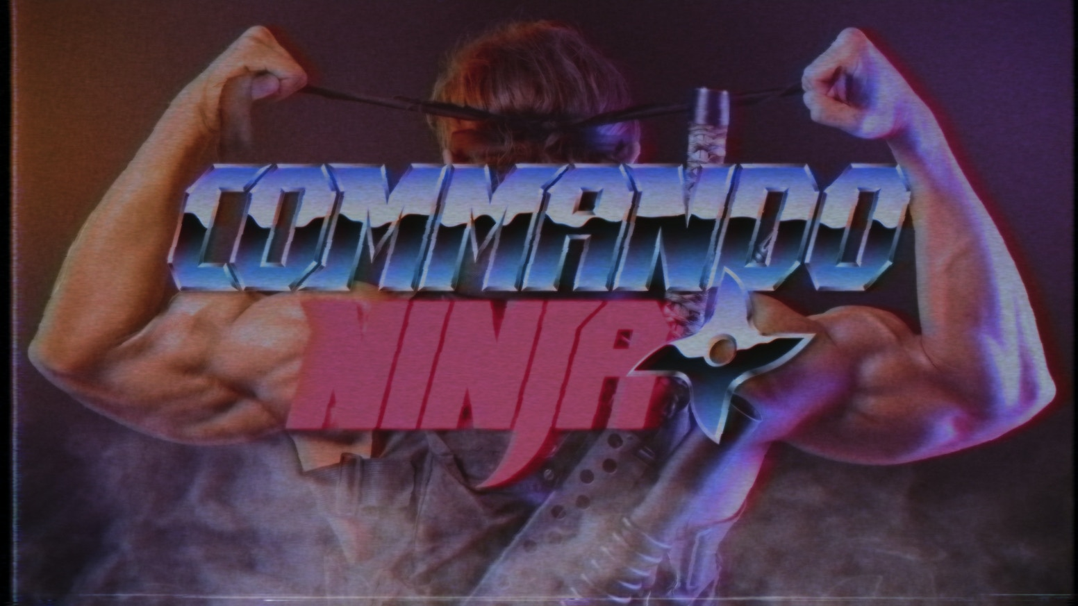 Commando Ninja is an over-the-top Action Comedy, tribute to the 80's Action Heroes Movies.