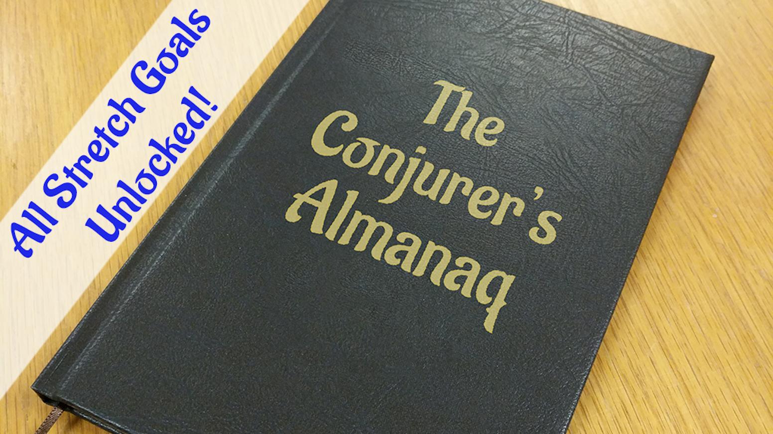 The Conjurer\'s Almanaq: Escape This Book by Almanaq — Kickstarter