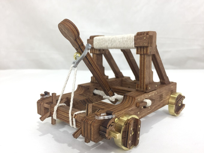 Stained catapult