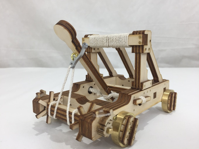 unstained catapult