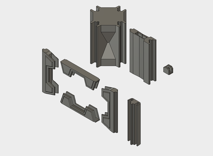 Added: Large Doorway Bits and Pillar Caps