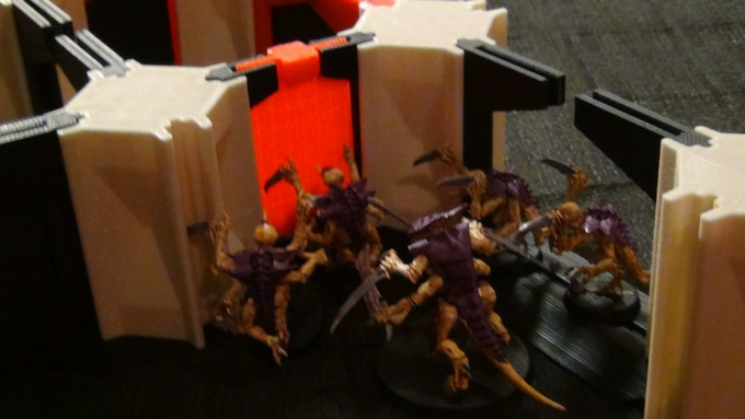"""Brood-lord: """"Charge the doors!"""""""