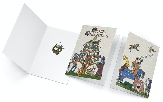 Card Front, Back, and Inside
