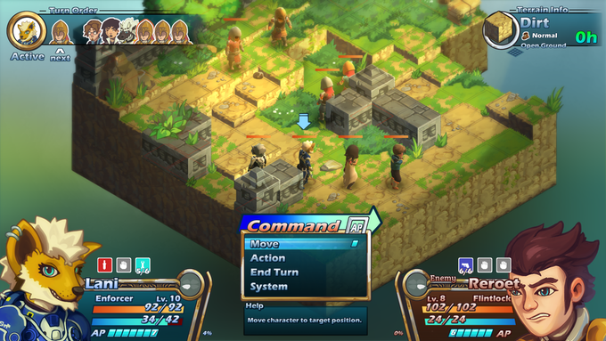 Tactical RPG Action in Eden's Last Sunrise
