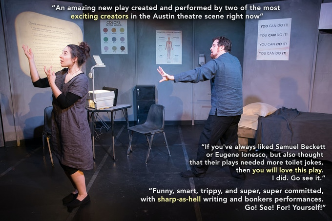 Subject to Control, ABT's First Production in 2016 at the Salvage Vanguard Theater