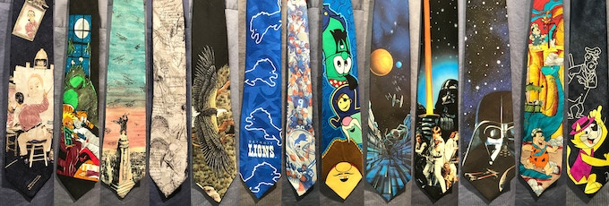 17ebe0a21c29 The Dude Abides Necktie—It really ties the room together by Michael ...