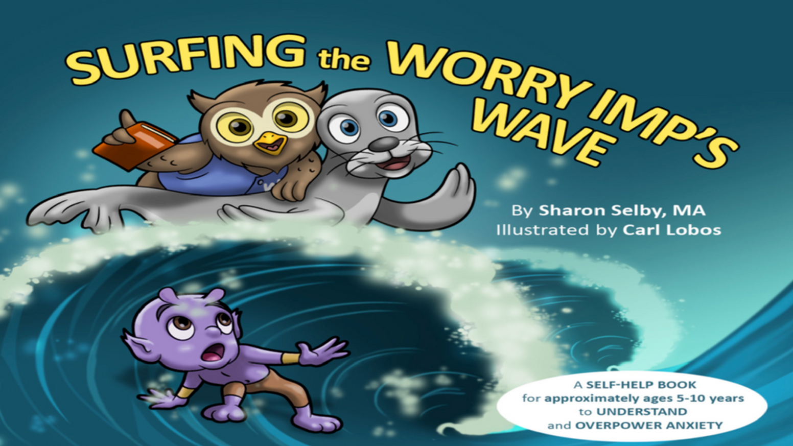 This engaging and in-depth children's book teaches all about anxiety and how to overpower it using ten Wiley Owl wise-thinking tools. To order now that the Kickstarter Campaign is over, please visit my website at www.SharonSelby.com