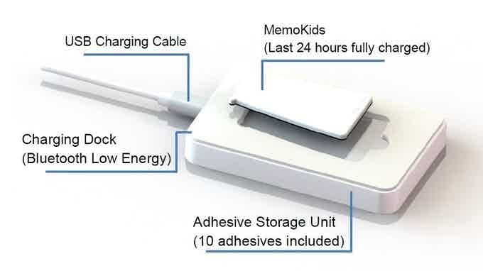 MemoKids charging dock